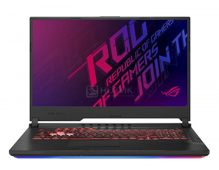 Ноутбук ASUS ROG Strix G GL731GU-EV121 (17.30 IPS (LED)/ Core i5 9300H 2400MHz/ 16384Mb/ SSD / NVIDIA GeForce® GTX 1660Ti 6144Mb) Без ОС [90NR01T3-M02650]