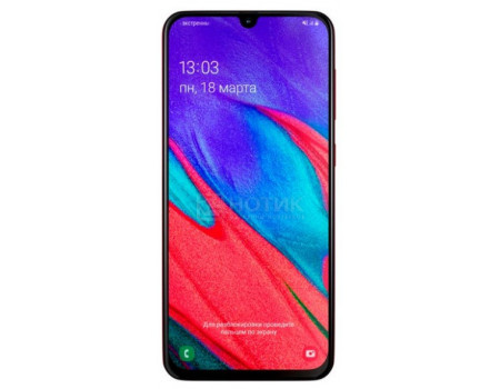 Смартфон Samsung Galaxy A40 SM-A405F Red (Android 9.0 (Pie)/Exynos 7885 1800MHz/5.90
