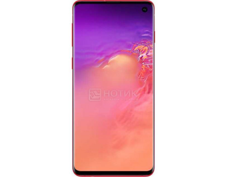Смартфон Samsung Galaxy S10 128Gb SM-G973F Cardinal Red (Android 9.0 (Pie)/Exynos 9820 2700MHz/6.10