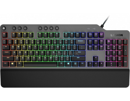 Клавиатура проводная Lenovo Legion K500 RGB Mechanical Gaming Keyboard, Серый GY40T26479 фото
