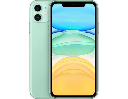 Смартфон Apple iPhone 11 128Gb Green (iOS 13/A13 Bionic 2650MHz/6.10