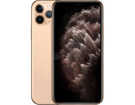 """Смартфон Apple iPhone 11 Pro 512Gb Gold (iOS 13/A13 Bionic 2650MHz/5.80"""" 2436x1125/4096Mb/512Gb/4G LTE ) [MWCF2RU/A]"""