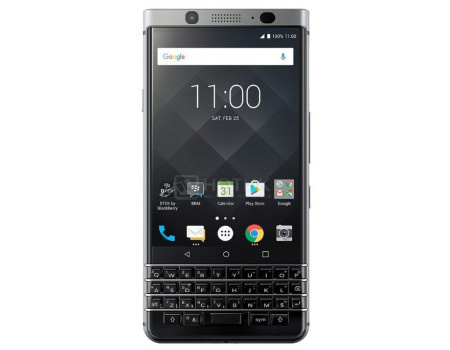 Смартфон BlackBerry KeyOne Silver 32Gb (Android 7.1 (Nougat)/MSM8953 1800MHz/4.45