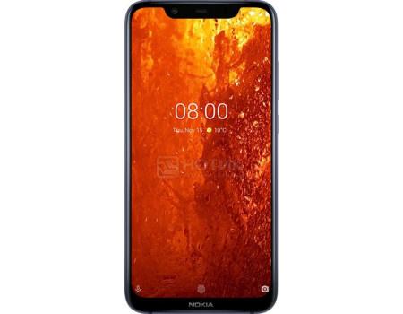 Смартфон Nokia 8.1 DS 64Gb Indigo (Android 9.0 (Pie)/SDM710 2200MHz/6.18