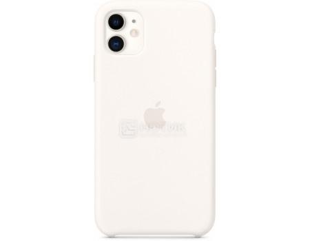 Чехол-накладка Apple Silicone Case White для iPhone 11 MWVX2ZM/A, Силикон, Белый фото