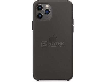Чехол-накладка Apple Silicone Case Black для iPhone 11 Pro MWYN2ZM/A, Силикон, Черный фото