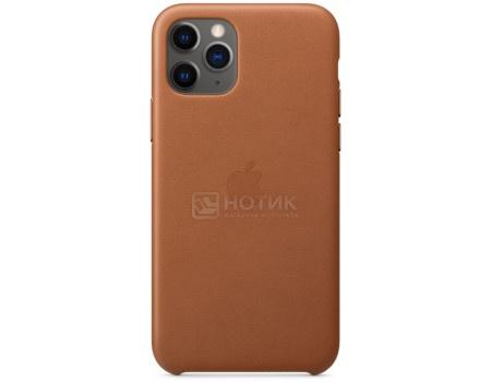 Чехол-накладка Apple Leather Case Saddle Brown для iPhone 11 Pro MWYD2ZM/A Кожа, Коричневый фото