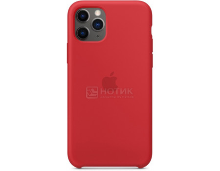 Чехол-накладка Apple Silicone Case Red для iPhone 11 Pro MWYH2ZM/A Силикон Красный.