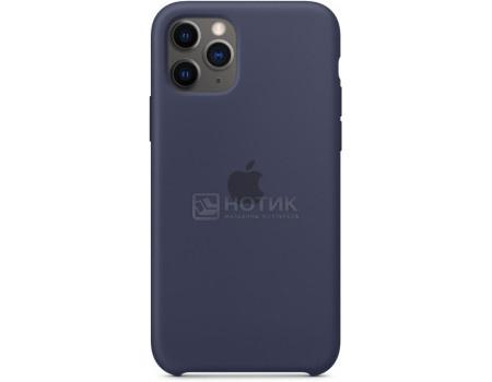 Чехол-накладка Apple Silicone Case Midnight Blue для iPhone 11 Pro MWYJ2ZM/A, Силикон, Темно-синий фото