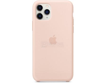 Чехол-накладка Apple Silicone Case Pink Sand для iPhone 11 Pro MWYM2ZM/A, Силикон, Бледно-розовый фото