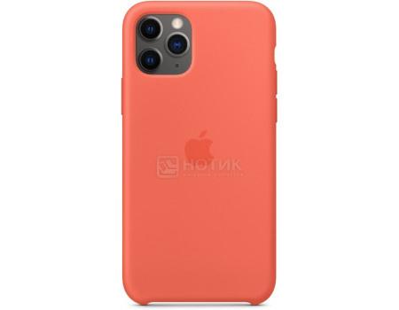 Чехол-накладка Apple Silicone Case Clementine для iPhone 11 Pro MWYQ2ZM/A, Силикон, Оранжевый фото