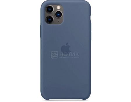 Чехол-накладка Apple Silicone Case Alaskan Blue для iPhone 11 Pro MWYR2ZM/A, Силикон, Светло-синий фото