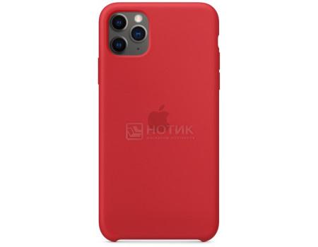Чехол-накладка Apple Silicone Case Red для iPhone 11 Pro Max MWYV2ZM/A, Силикон, Красный  - купить со скидкой
