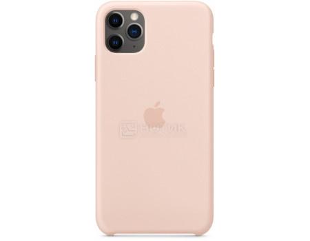 Чехол-накладка Apple Silicone Case Pink Sand для iPhone 11 Pro Max MWYY2ZM/A Силикон Бледно-розовый.