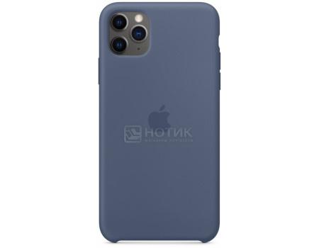 Чехол-накладка Apple Silicone Case Alaskan Blue для iPhone 11 Pro Max MX032ZM/A, Силикон, Светло-синий фото