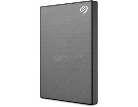 "Внешний жесткий диск Seagate 1Tb Backup Plus Slim STHN1000405 2.5"" USB 3.0 Серый"