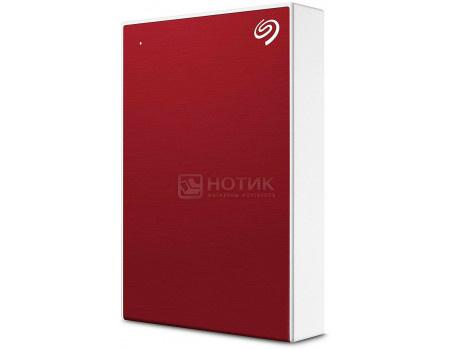 "Внешний жесткий диск Seagate 4Tb Backup Plus Slim Portable STHP4000403 2.5"" USB 3.0 Красный"