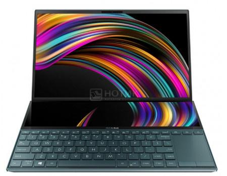Ноутбук ASUS Zenbook Duo UX481FL-BM024TS (14.00 IPS (LED)/ Core i5 10210U 1600MHz/ 16384Mb/ SSD / NVIDIA GeForce® MX250 2048Mb) MS Windows 10 Home (64-bit) [90NB0P61-M01510]  - купить со скидкой