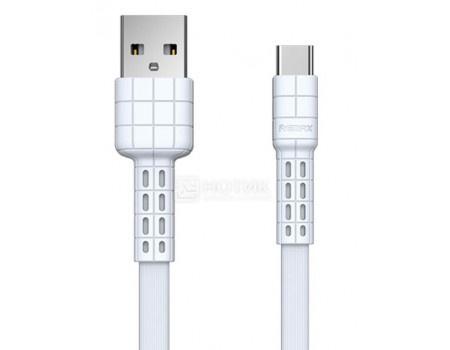 Кабель REMAX, USB - USB Type-C, Armor, 1м, Белый RC-116a White фото