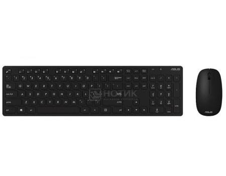 Комплект беспроводной клавиатура + мышь ASUS W5000, Черный 90XB0430-BKM1C0  - купить со скидкой