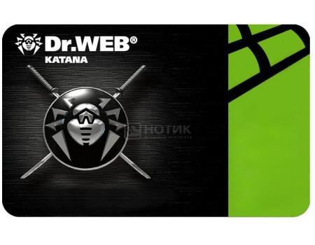 Электронная лицензия Dr.Web Katana, Антивирус на 24 мес на 4 ПК фото