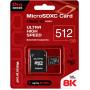 Карта памяти Qumo microSDXC 512GB Pro series