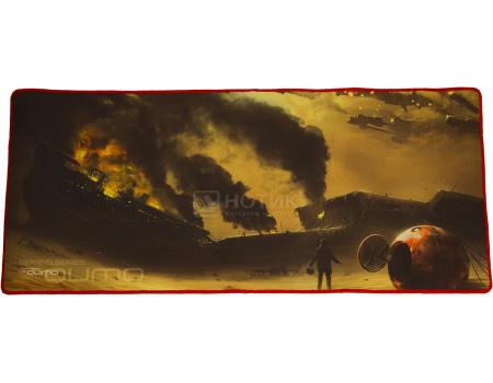 Коврик для мыши игровой Qumo Iron Sky, 800x350 мм, Рисунок 22489 фото