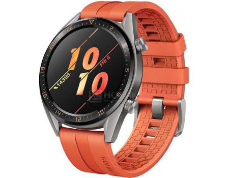 Смарт-часы Huawei Watch GT 46mm Active Orange, Bluetooth, 420 мАч Оранжевый 55023850 фото