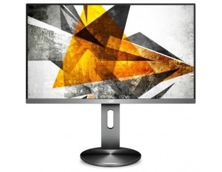 """Монитор 27"""" AOC I2790PQU/BT, FHD, IPS, HDMI, VGA, DP, 4xUSB 3.0 Серый I2790PQU/BT фото"""