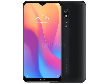 Смартфон Xiaomi Redmi 8A 32Gb Midnight Black (Android 9.0 (Pie)/SDM439 1950MHz/6.22