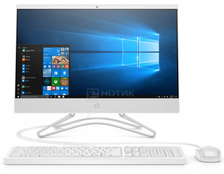 Моноблок HP 22-c0138ur (21.50 IPS (LED)/ Core i5 9400T 1800MHz/ 4096Mb/ Hybrid Drive 1000Gb/ NVIDIA GeForce® MX110 2048Mb) MS Windows 10 Home (64-bit) [8TZ61EA] фото