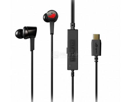Гарнитура проводная ASUS ROG Cetra, USB Type-C, Черный 90YH01I0-B2UA00 фото