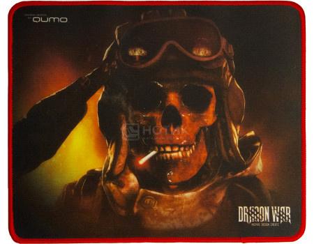 Коврик для мыши игровой Qumo Deadly Salute, 280x230 мм, Рисунок 23170 фото