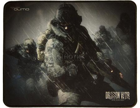 Коврик для мыши игровой Qumo Iron Storm, 280x230 мм, Рисунок 23172 фото
