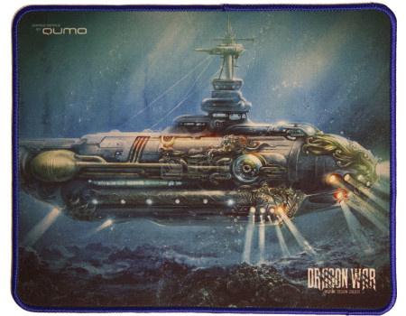 Коврик для мыши игровой Qumo Nautilus, 280x230 мм, Рисунок 23174