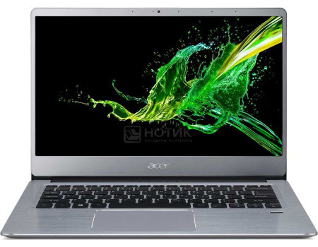 Ноутбук Acer Swift 3 SF314-58-71HA (14.00 IPS (LED)/ Core i7 10510U 1800MHz/ 8192Mb/ SSD / Intel UHD Graphics 64Mb) Linux OS [NX.HPMER.001]