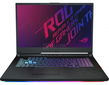 Ноутбук ASUS ROG HERO III Edition G731GV-EV180T (17.30 IPS (LED)/ Core i7 9750H 2600MHz/ 16384Mb/ HDD+SSD 1000Gb/ NVIDIA GeForce® RTX 2060 6144Mb) MS Windows 10 Home (64-bit) [90NR01P2-M03840]