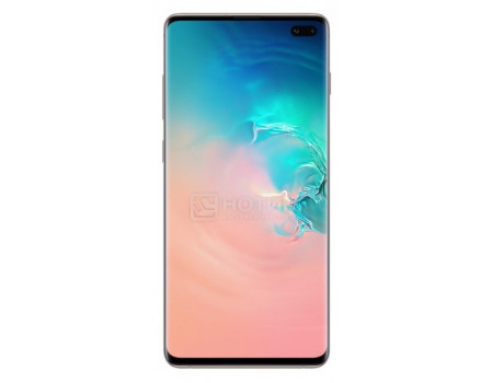 Смартфон Samsung Galaxy S10+ 512Gb SM-G975F Ceramic White (Android 9.0 (Pie)/Exynos 9820 2700MHz/6.40