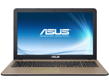 Ноутбук ASUS X540MA-GQ218T (15.60 TN (LED)/ Pentium Quad Core N5000 1100MHz/ 4096Mb/ SSD / Intel UHD Graphics 605 64Mb) MS Windows 10 Home (64-bit) [90NB0IR1-M15600]