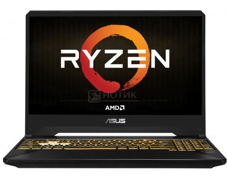 Ноутбук ASUS TUF Gaming FX505DT-BQ317T (15.60 IPS (LED)/ Ryzen 5 3550H 2100MHz/ 16384Mb/ HDD+SSD 1000Gb/ NVIDIA GeForce® GTX 1650 4096Mb) MS Windows 10 Home (64-bit) [90NR02D1-M07500]