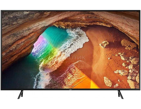 Телевизор Samsung 75 UHD, QLED, Smart TV , Звук (20 Вт (2x10 Вт)), 4xHDMI, 2xUSB, 1xRJ-45, PQI 3000, Черный QE75Q60RAUXRU