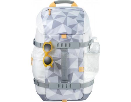 "Рюкзак 15.6"" HP Facet White Odyssey Backpack, 5WK92AA, Полиэстер, Белый"