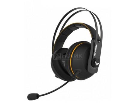 Гарнитура проводная ASUS TUF Gaming H7 Core, Mini jack, Черный/Желтый 90YH01RY-B1UA00 фото