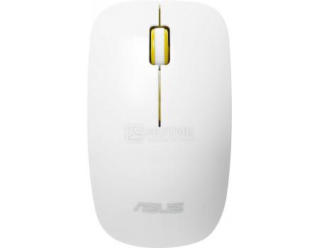 Мышь беспроводная ASUS WT300, 1600dpi, Белый/Желтый 90XB0450-BMU030 фото