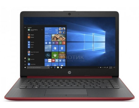 Ноутбук HP 14-ck0107ur (14.00 SVA/ Core i3 7020U 2300MHz/ 4096Mb/ SSD / Intel HD Graphics 620 64Mb) MS Windows 10 Home (64-bit) [9MH07EA]