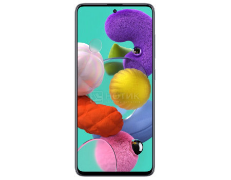 """Смартфон Samsung Galaxy A51 64Gb SM-A515F Black (Android 10.0/Exynos 9611 2300MHz/6.50"""" 2400x1080/4096Mb/64Gb/4G LTE ) [SM-A515FZKMSER]"""