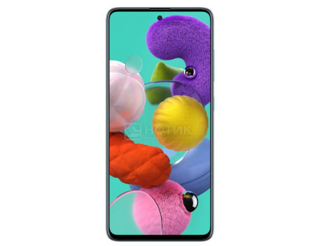 """Смартфон Samsung Galaxy A51 64Gb SM-A515F Blue (Android 10.0/Exynos 9611 2300MHz/6.50"""" 2400x1080/4096Mb/64Gb/4G LTE ) [SM-A515FZBMSER]"""