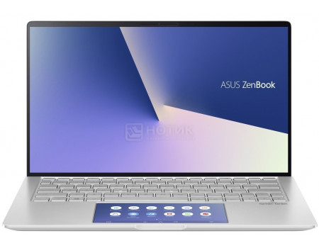 Ультрабук ASUS Zenbook UX334FAC-A3162T (13.30 IPS (LED)/ Core i7 10510U 1800MHz/ 16384Mb/ SSD / Intel UHD Graphics 64Mb) MS Windows 10 Home (64-bit) [90NB0MX6-M02510]