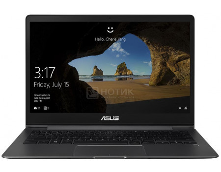 Ультрабук ASUS Zenbook 13 UX331FN-EM060T (13.30 IPS (LED)/ Core i5 8265U 1600MHz/ 8192Mb/ SSD / NVIDIA GeForce® MX150 2048Mb) MS Windows 10 Home (64-bit) [90NB0KE2-M01610] фото