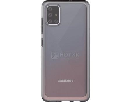 Чехол-накладка Araree A Cover для смартфона Samsung Galaxy A51, Термополиуретан, Black, Черный, GP-FPA515KDABR фото